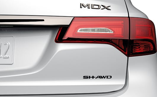 MY20 Acura MDX Accessories emblem SH-AWD
