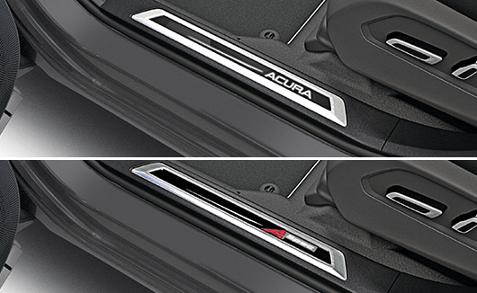 RDX 2019 Illuminated Door Sill Trim
