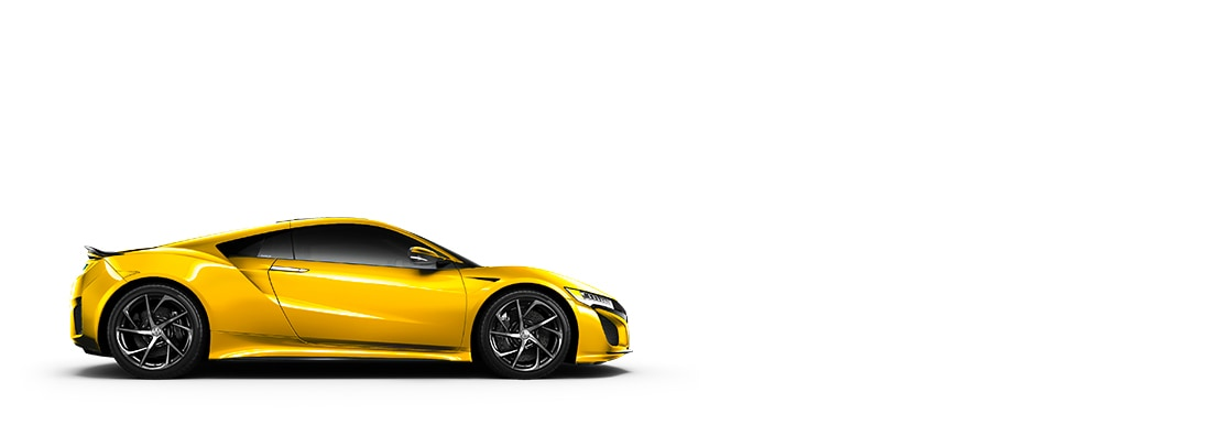 2020 Acura NSX Indy Yellow Pearl