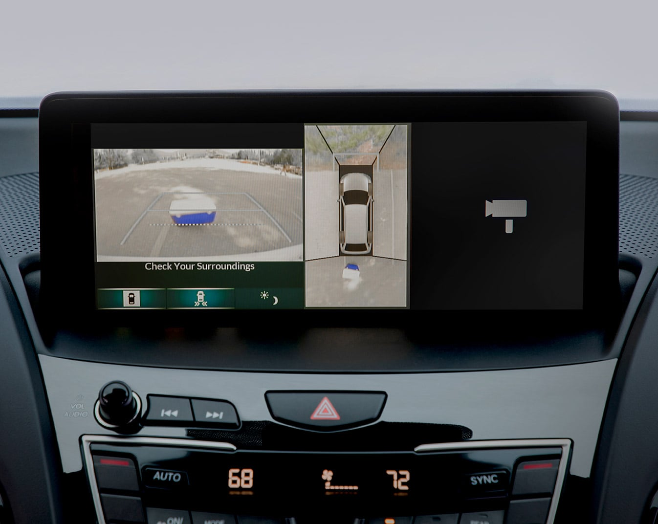 Acura Surround-View Camera