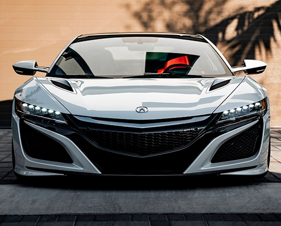 2019 Acura Homepage NSX front view