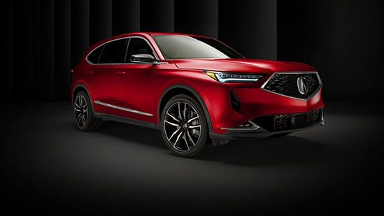 Acura MDX Reveal Hero