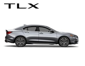 Acura Tlx Profile View With Background Hover