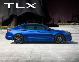 Acura TLX Profile View with Background