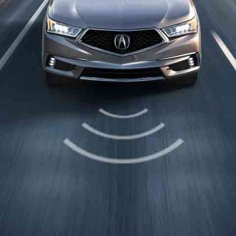 The 2017 Acura MDX features Acura Watch.