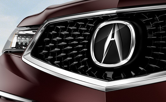 PENTAGON GRILLE - 2018 acura tsx grille