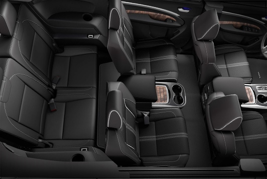 2017 Acura MDX heated and ventilated seats.