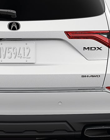 Black Chrome Emblems  2022 MDX Accessory