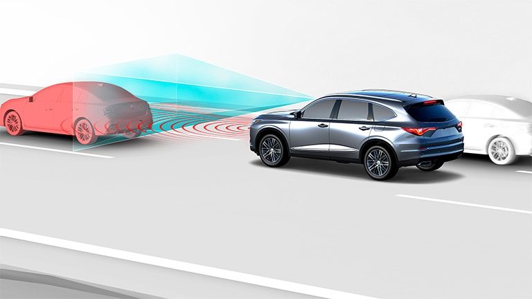 2022 Acura MDX Collision Mitigation Braking System