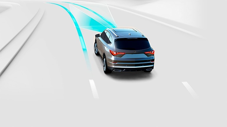 2022 Acura MDX Lane Keeping Assist System