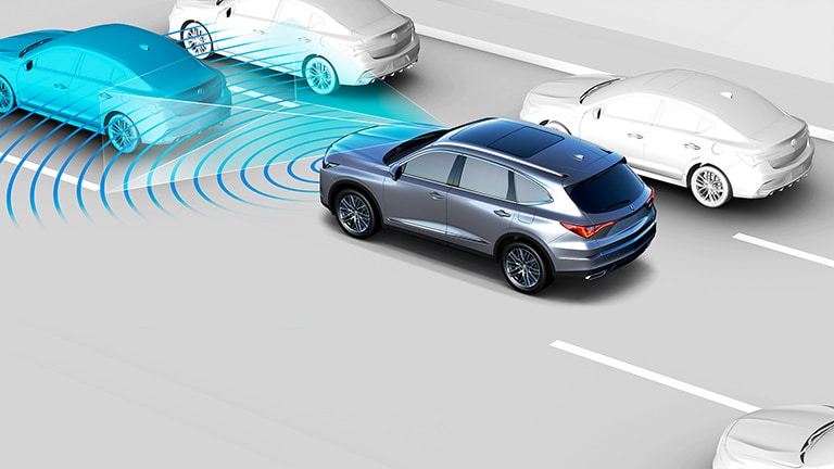 2022 Acura MDX Traffic Jam Assist