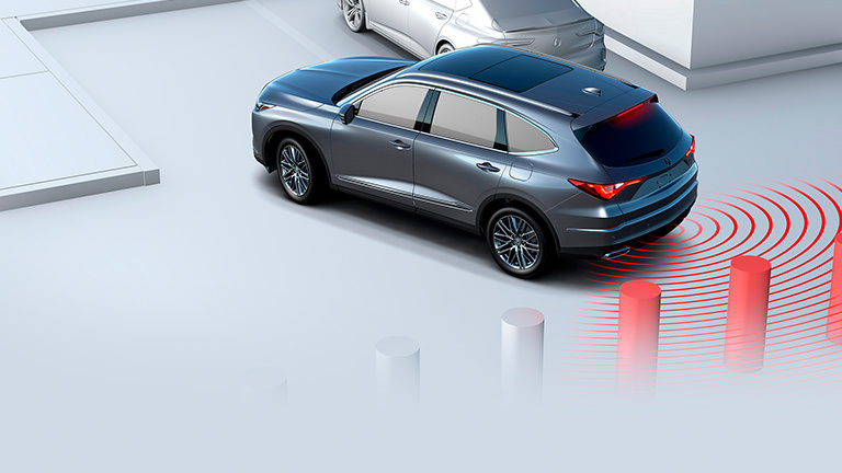2022 Acura MDX Low Speed Braking Control