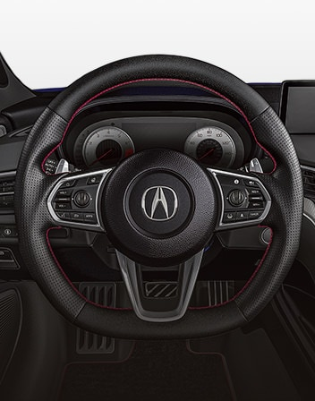 Acura TLX 2021 Heated Steering Wheel