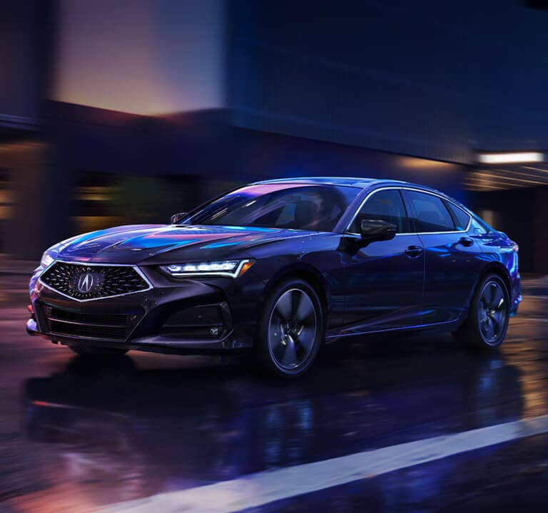 Acura TLX 2021 A-Spec® Rear three quarters view