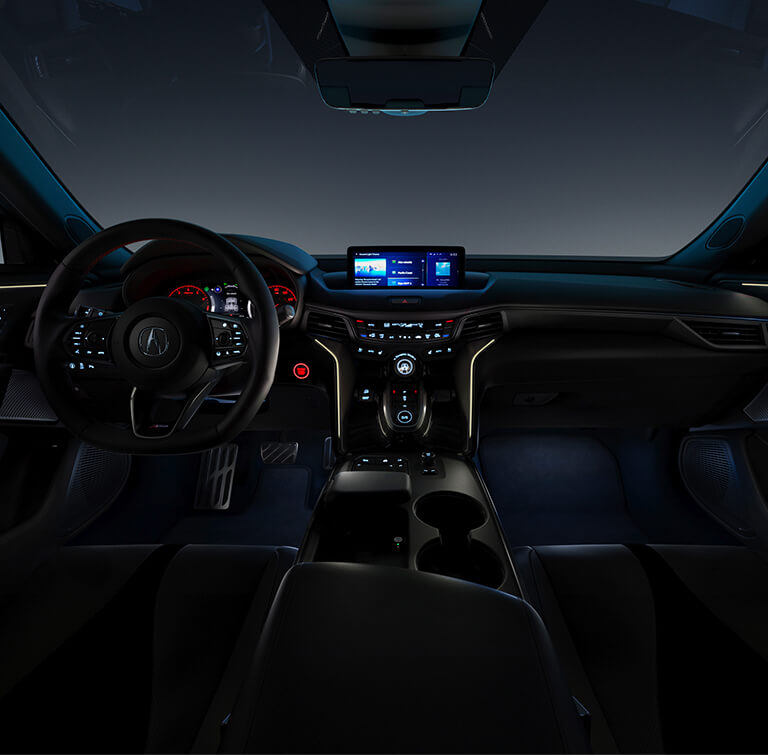 TLX 2021 Ambient Lighting Model Baja Highway