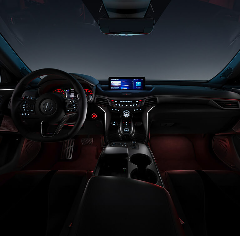 TLX 2021 Ambient Lighting Model Suzuka