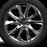 20-IN DARK CHROME-LOOK ALLOY WHEELS (part number:)