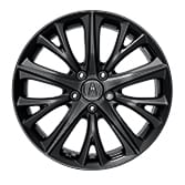 18-IN BERLINA BLACK ALLOY WHEELS (SE & A-SPEC) (part number:)
