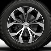 18-IN DIAMOND-CUT ALLOY WHEEL (part number:)