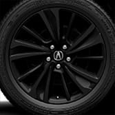 20-IN BERLINA BLACK ALLOY WHEELS (part number:)