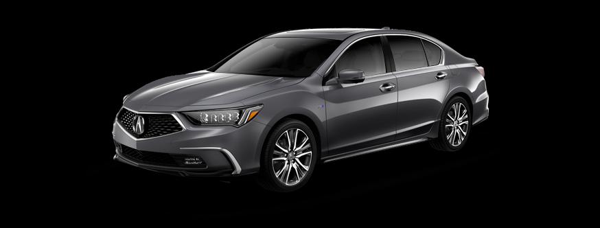 2019 Acura Rlx Standard P Aws Lunar Silver Metallic