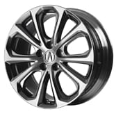 19-IN DARK CHROME-FINISH ALLOY WHEELS (part number:)