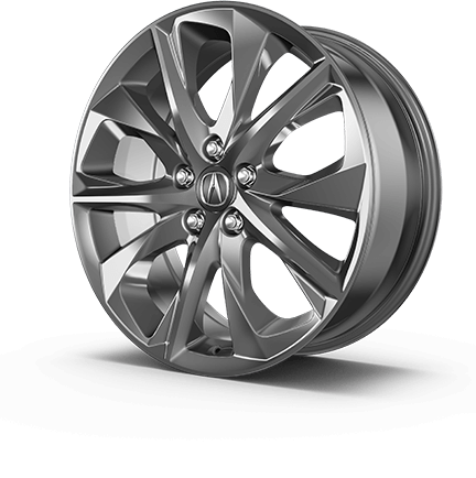 "2017 Acura MDX 20"" wheel options."