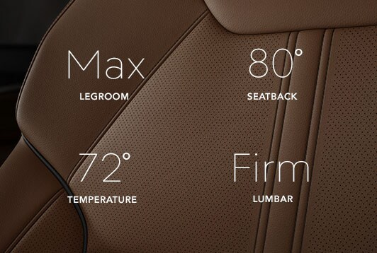2017 Acura MDX leather seats.