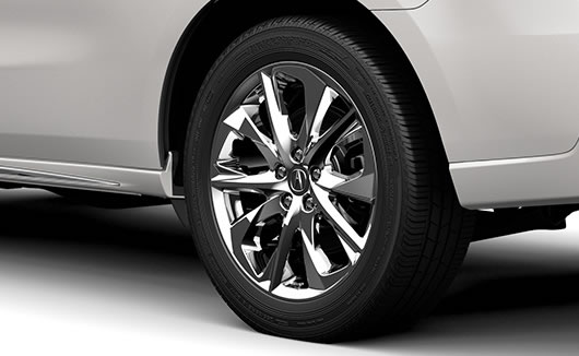 2017 Acura MDX 20-inch wheels.
