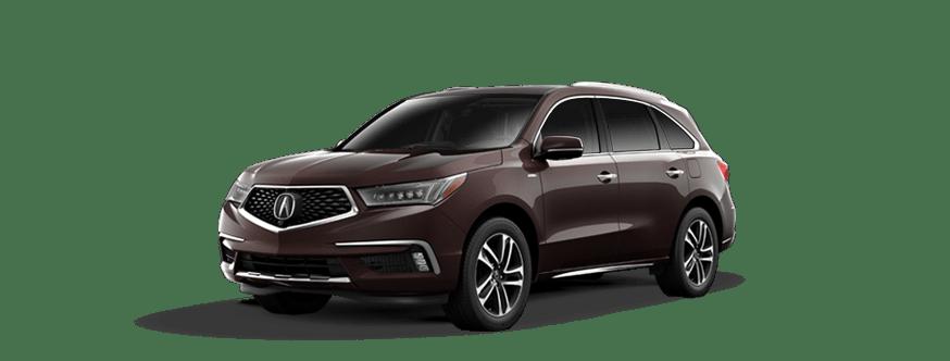 2017 Acura MDX Sport Hybrid Sport Hybrid SH-AWD with Advance Package 4D Sport Utility