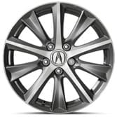 "2013 ILX 17"" DIAMOND CUT ALLOY WHEEL (NON-HYBRID TECH & PREMIUM TRIMS)"