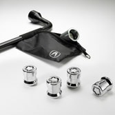 2014 ILX WHEEL LOCKS