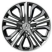 19-IN DIAMOND-CUT ALLOY WHEELS (part number:)