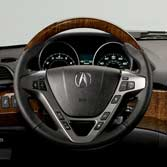 2013 MDX WOODGRAIN STEERING WHEEL