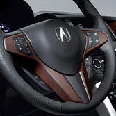 2011 RDX WOOD-GRAIN STEERING WHEEL TRIM