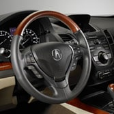 2014 RDX WOODGRAIN-LOOK STEERING WHEEL