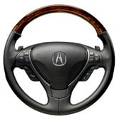 2011 ZDX WOOD-GRAIN STEERING WHEEL