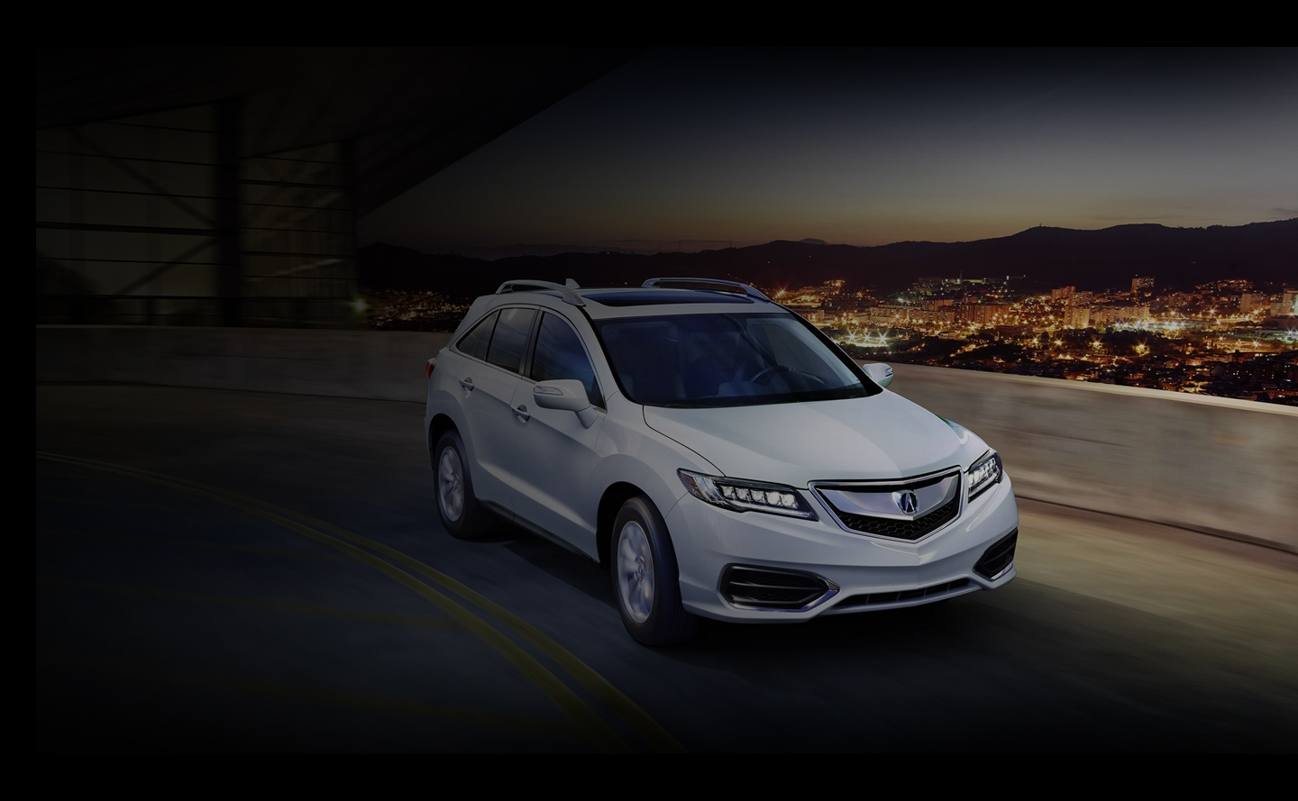 2018 acura rdx white. simple acura white 2018 acura rdx on city highway throughout acura rdx