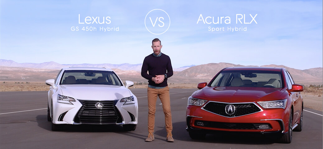 Lexus GS 350 Vs Acura RLX   Video Review Comparison