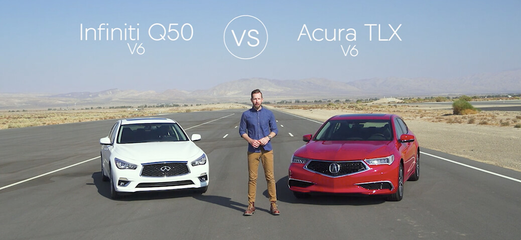 2020 Acura TLX vs 2019 Infiniti Q50 Luxury Sedan Comparison