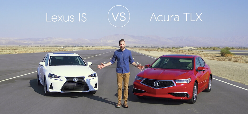 Lexus Is Vs Acura Tlx Video Review Comparison